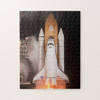 Space Shuttle Endeavor Lifts Off Jigsaw Puzzle