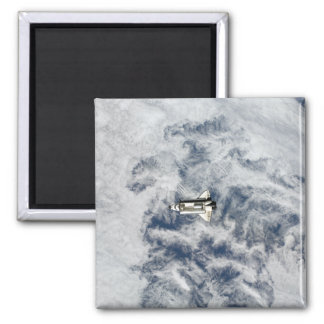 Space Shuttle Endeavour 11 2 Inch Square Magnet