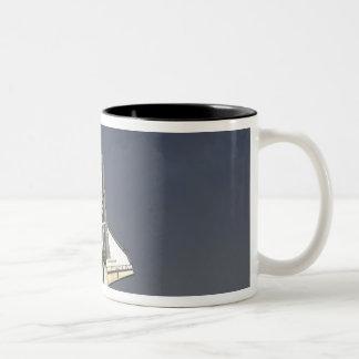Space Shuttle Endeavour 15 Two-Tone Coffee Mug