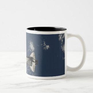 Space Shuttle Endeavour 17 Two-Tone Coffee Mug