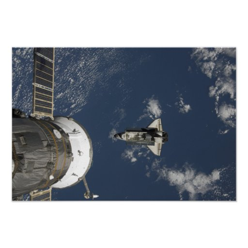 Space Shuttle Endeavour 18 Poster