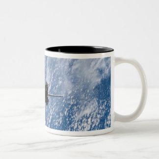 Space Shuttle Endeavour 18 Two-Tone Coffee Mug