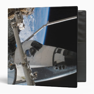 Space Shuttle Endeavour 23 3 Ring Binder