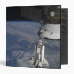 Space shuttle Endeavour 2 3 Ring Binder