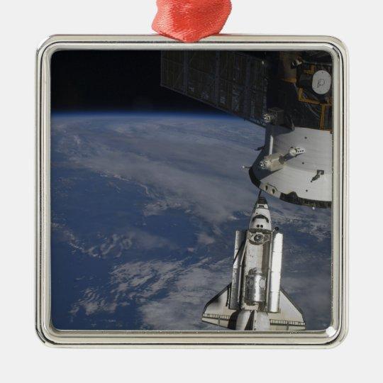 Space shuttle Endeavour 2 Metal Ornament