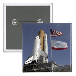 Space Shuttle Endeavour 2 Pinback Button