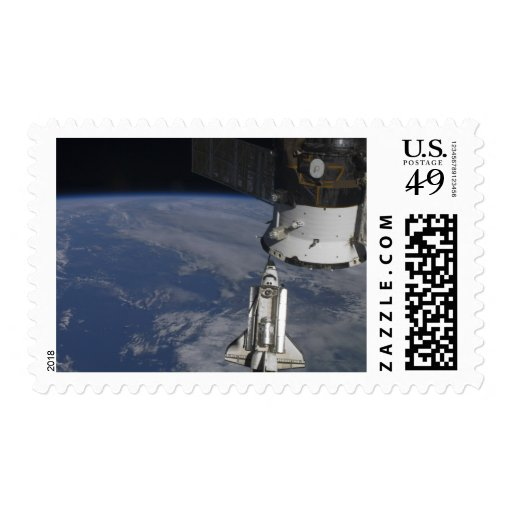 Space shuttle Endeavour 2 Postage Stamp