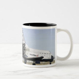 Space Shuttle Endeavour 4 Two-Tone Coffee Mug