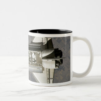 Space Shuttle Endeavour 7 Two-Tone Coffee Mug