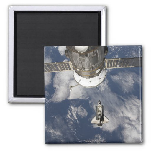 Space Shuttle Endeavour 8 2 Inch Square Magnet