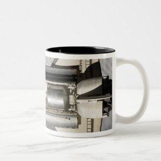 Space Shuttle Endeavour 9 Two-Tone Coffee Mug