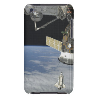 Space shuttle Endeavour, a Soyuz spacecraft Barely There iPod Cover