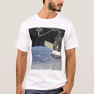 Space shuttle Endeavour, a Soyuz spacecraft T-Shirt