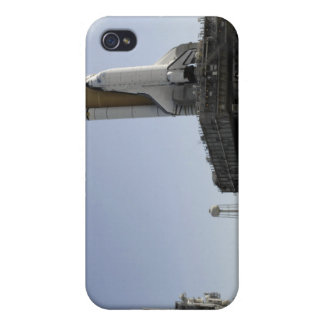 Space Shuttle Endeavour approaches the launch p iPhone 4 Cases