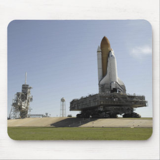 Space Shuttle Endeavour approaches the launch p Mouse Pad