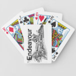 Space Shuttle Endeavour Bicycle Poker Deck