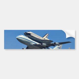 Space Shuttle Endeavour Ferry Bumper Sticker Car Bumper Sticker