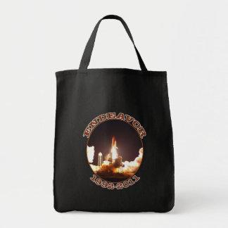 Space Shuttle Endeavour Final Launch Canvas Bag