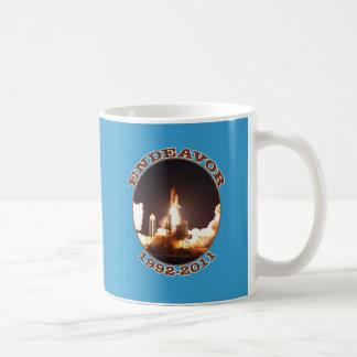 Space Shuttle Endeavour Final Launch Coffee Mug