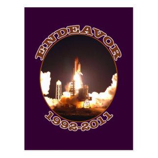 Space Shuttle Endeavour Final Launch Postcard