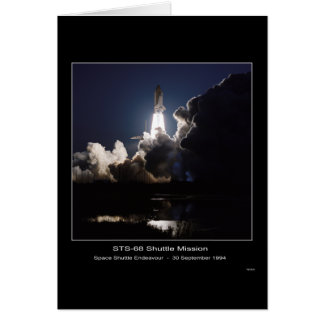 Space Shuttle Endeavour Lift-off – September 30, 1 Greeting Card
