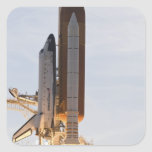 Space Shuttle Endeavour lifts off 2 Square Sticker