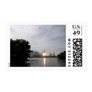 Space Shuttle Endeavour lifts off 3 Postage Stamp