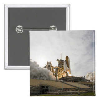 Space Shuttle Endeavour lifts off 5 Pinback Button
