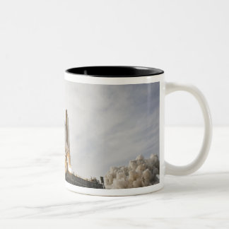 Space Shuttle Endeavour lifts off 5 Two-Tone Coffee Mug