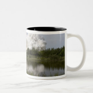 Space Shuttle Endeavour lifts off 6 Two-Tone Coffee Mug