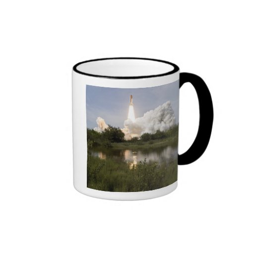 Space Shuttle Endeavour lifts off 7 Mug