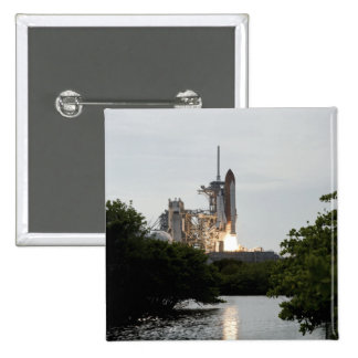 Space Shuttle Endeavour lifts off Pinback Button
