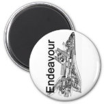 Space Shuttle Endeavour Magnets