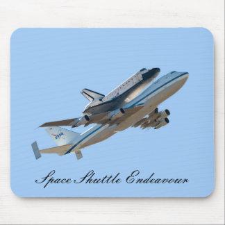Space shuttle Endeavour Mouse Pad