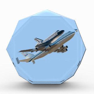 Space shuttle Endeavour NASA Acrylic Award
