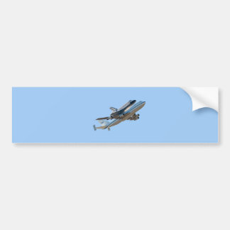 Space Shuttle Endeavour NASA Bumper Sticker