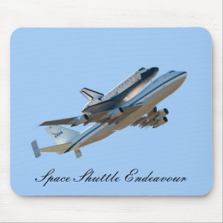 Space Shuttle Endeavour NASA Mouse Pad