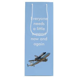 Space Shuttle Endeavour NASA Wine Gift Bag