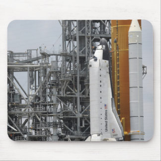 Space Shuttle Endeavour on the launch pad 2 Mouse Pad