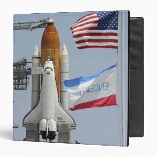 Space Shuttle Endeavour on the launch pad 3 Binder