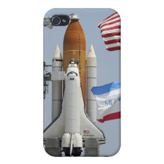 Space Shuttle Endeavour on the launch pad 3 iPhone 4 Case