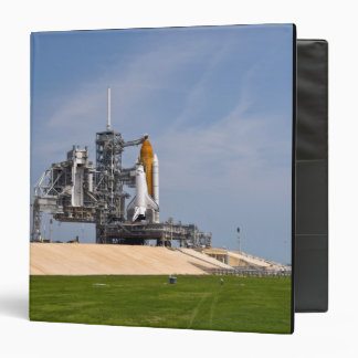 Space Shuttle Endeavour on the launch pad 4 3 Ring Binder
