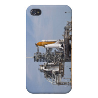Space Shuttle Endeavour on the launch pad 4 Case For iPhone 4