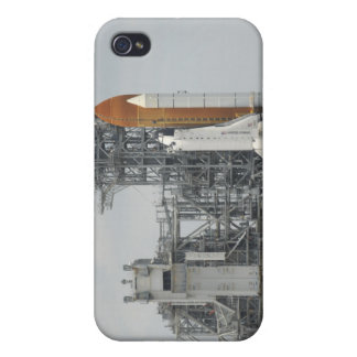 Space Shuttle Endeavour on the launch pad 5 iPhone 4 Case