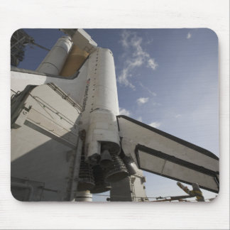 Space Shuttle Endeavour on the launch pad 6 Mouse Pad