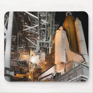 Space Shuttle Endeavour on the launch pad Mouse Pad