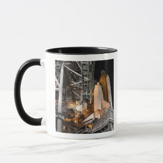 Space Shuttle Endeavour on the launch pad Mug