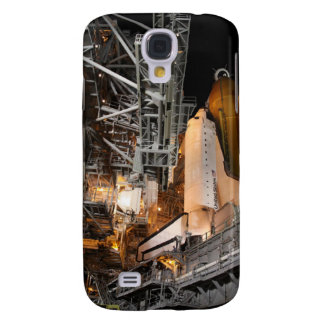 Space Shuttle Endeavour on the launch pad Samsung S4 Case