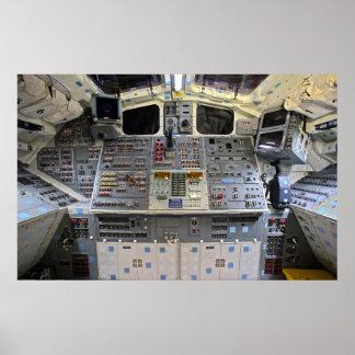 Space Shuttle Endeavour OV-105 Flight Deck Posters