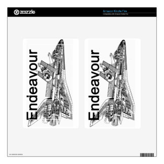Space Shuttle Endeavour Kindle Fire Skin